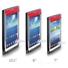 Pellicola protettiva 7' Samsung Galaxy Tab 3 con applicatore di precisione