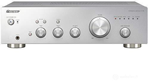 Amplificatore Amplif.A-10AES Sil. 2x50w Ing.Phono (AZ)