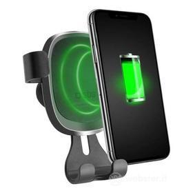 Cellulare - Supporto Auto Gravity con ricarica wireless (AZ)