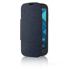 Flip Cover Alcatel One Touch POP C5 blu