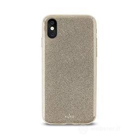 Cellulare - Custodia Glitter Shine Cover (iPhone X) (AZ)