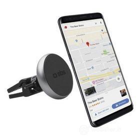 Cellulare - Supporto Auto Universale con clip per bocchetta di areazione - aggancio magnetico (AZ)