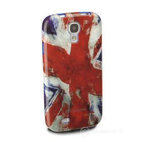 Cover Mundial in gomma bandiera UK Samsung Galaxy S4