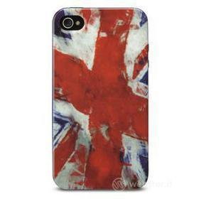 Cover Mundial in gomma bandiera UK iPhone 4