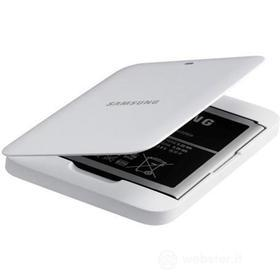 Kit batteria extra + caricabatteie da tavolo per Samsung Galaxy S5