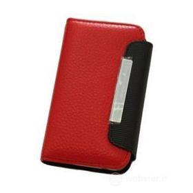 Custodia Folio Case Red/Black iPhone 4