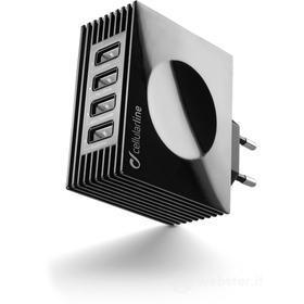 Caricabatterie veloce con quattro prese USB Charger Quad Ultra