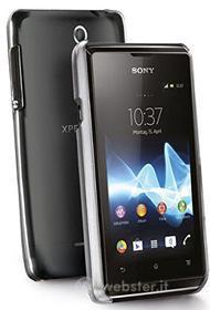 Cover rigida trasparente Sony Xperia E