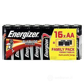 Batteria Standard Family Pack 16Pz. AA Alk. (AZ)