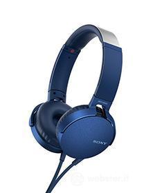 Cuffia Cuffia MDR-XB550APL Blue Arch. C/microf (AZ)