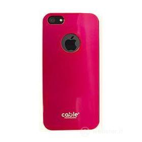 Cover iSlim Fit glossy pink iPhone 5
