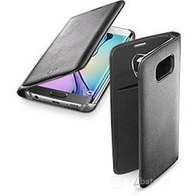 Custodia a libro effetto pelle Flip Book (Galaxy S6 Edge)