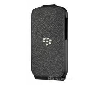 Flip Cover in pelle Blackberry Q10
