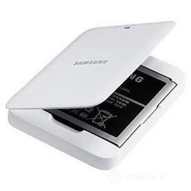 Kit batteria extra + caricabatteie da tavolo per Samsung Galaxy S4