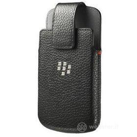 Custodia in pelle da cintura BlackBerry Q10