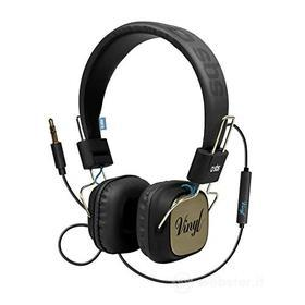 Cellulare - Auricolare Vynil Stereo Headphone with microphone (AZ)