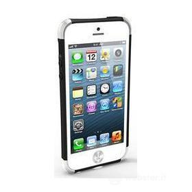 iRound Custom Case black-silver iPhone 5