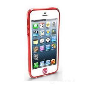 iRound Custom Case red-red iPhone 5