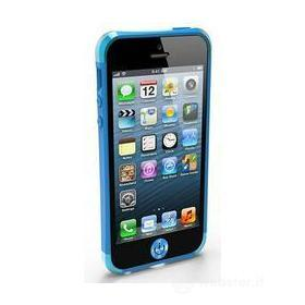 iRound Custom Case blue-blue iPhone 5