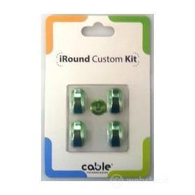iRound Custom Kit - green iPhone 5
