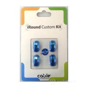iRound Custom Kit - blue iPhone 5