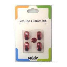 iRound Custom Kit - red iPhone 5