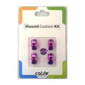 iRound Custom Kit - violet iPhone 5