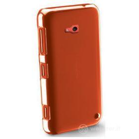 Cover rigida trasparente e pellicola protettiva Nokia Lumia 625