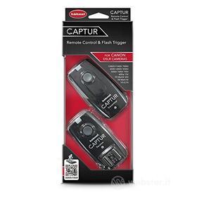 Accessorio Fotocamera Digitale Captur Remote Control & Flash Trigger (Canon) (AZ)