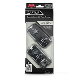 Accessorio Fotocamera Digitale Captur Remote Control & Flash Trigger (Nikon) (AZ)