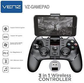 Cellulare - Adattatore Joypad Wireless per Smartphone Tablet e PC VZ-GAMEPAD (AZ)