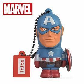 Marvel Avengers Captain America Chiavetta USB 16 GB