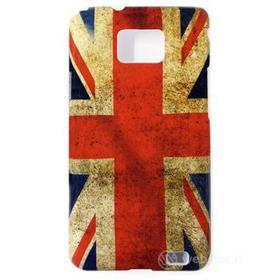 Vintage cover bandiera UK Samsung Galaxy S2