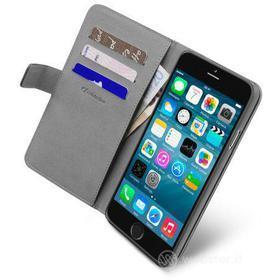 Custodia a libro effetto pelle con tasche iPhone 6