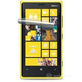 Cover rigida trasparente e pellicola protettiva Nokia Lumia 520