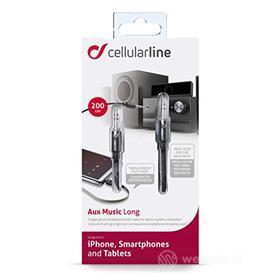 Cellulare - Kit Cavo Dati/ Stili/Pennini Aux Music Long 2m (AZ)