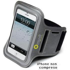 Fascia da braccio in neoprene iPhone 5/5S