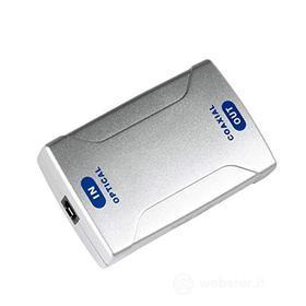 Cavetteria Audio/Video Convert. Audio Dig.Ottico->Coass. 42905 (AZ)