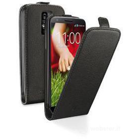 Flip Cover in ecopelle LG G2