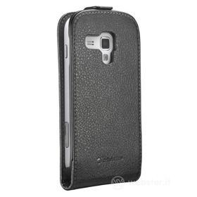 Flip Cover in ecopelle Galaxy Trend S7560