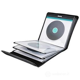 Porta Supporti Magnetici Audio/Video Custodia porta LP Nera 12 posti 181440 (AZ)