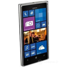Cover rigida trasparente e pellicola protettiva Nokia Lumia 925