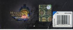 Nintendo 3DS XL Black+Monster Hunt 3 Ult