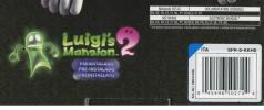 Nintendo 3DS XL Black+Luigi's Mansion 2