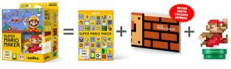 Super Mario Maker + Artbook + Amiibo