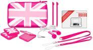 BB Pack UK Flag Pink New 2DSXL