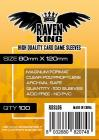 RAVEN KING - Bustine Protettive 80x120mm