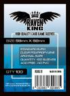 RAVEN KING Bustine Protettive 59x92mm