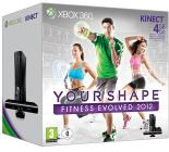XBOX 360 4GB +Kinect+Your Shape 2012