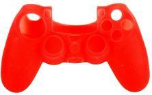 Protezione in Silicone Ctrl PS4 Rosso